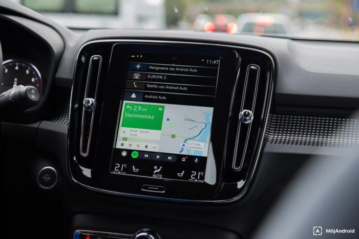 Volvo XC40 infotainment Android Auto