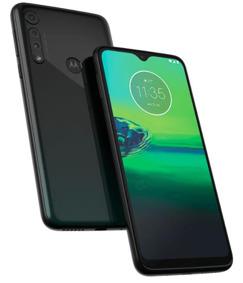 Motorola Moto G8 predná a zadná strana