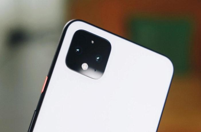 google pixel 4 fotoaparat