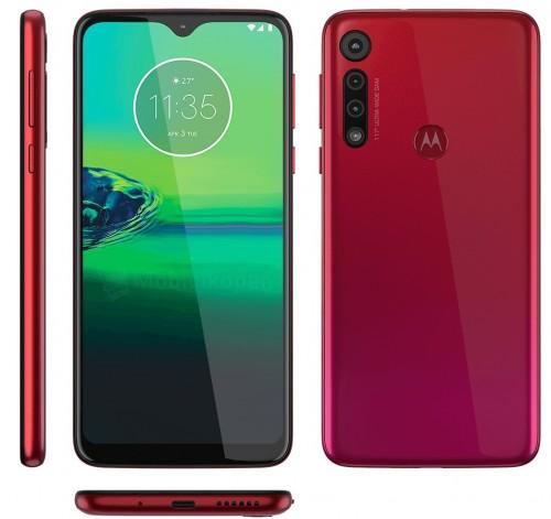 Motorola Moto G8 Play červená
