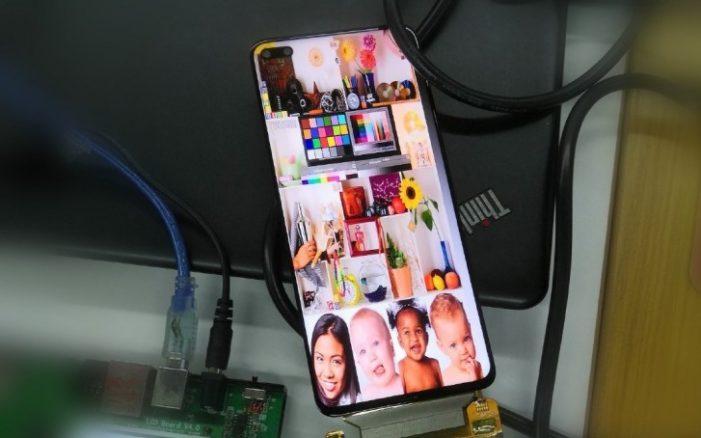 Honor V30 5G displej