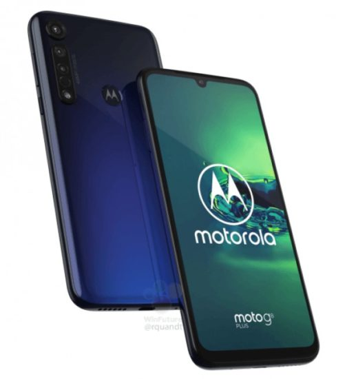 Motorola Moto G8 Plus logo