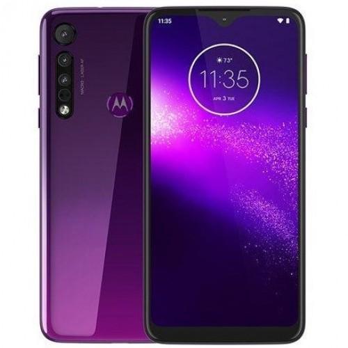 Motorola one macro fialová