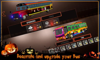 halloween party bus