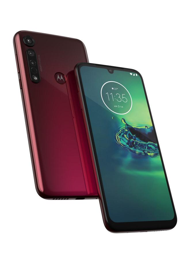 Motorola Moto G8 Plus ružová