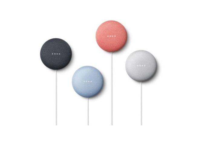 Google Nest Mini farby
