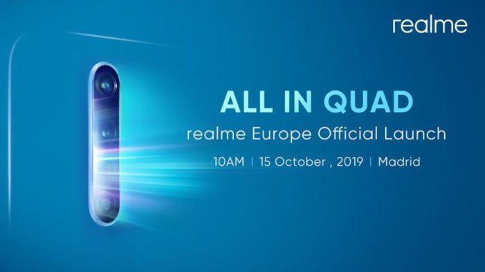 Realme X2 Pro pozvánka