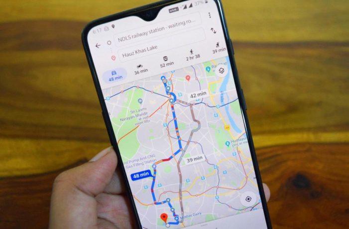 Google Mapy s pokročilým AI pre plánovanie trás