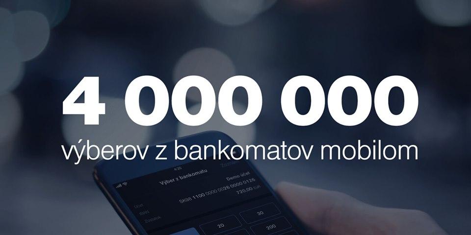 tatra banka 4 miliony