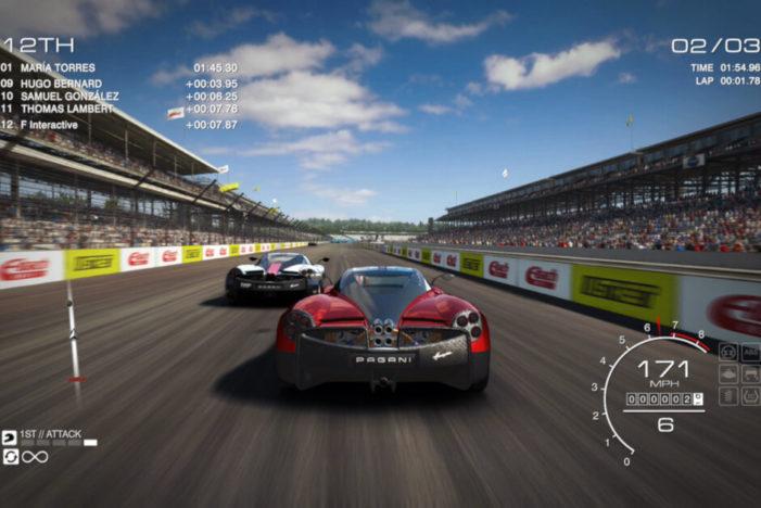 GRID Autosport kokpit