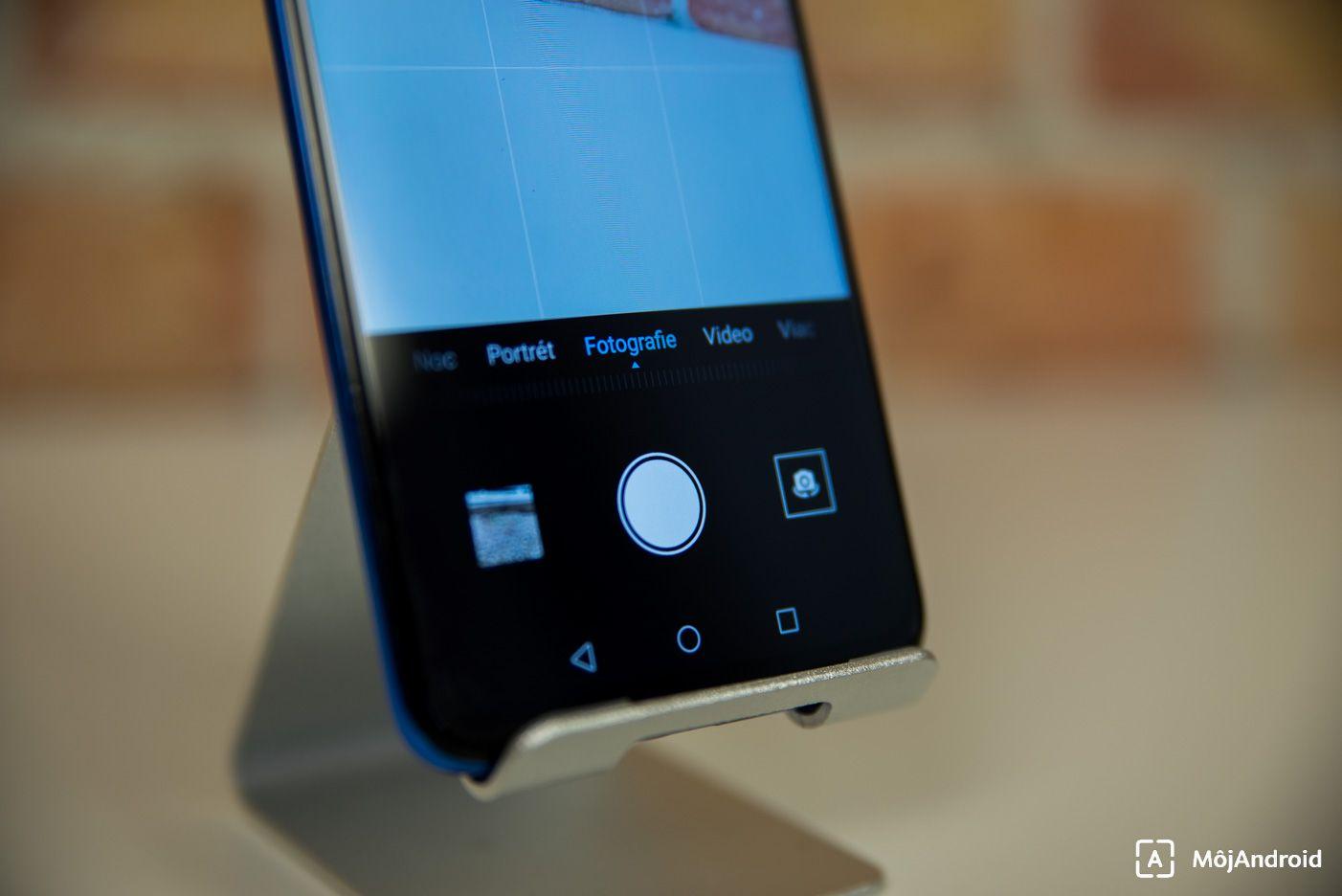 HONOR 9X fotoaparat aplikacia