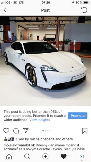 Instagram lajky mojelektromobil