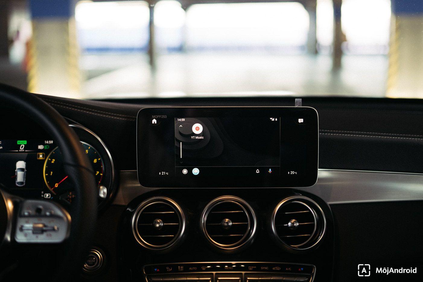 Mercedes GLC Android Auto