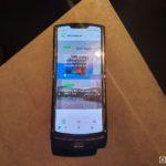 Motorola Razr 2019 vnutorny displej otvoreny