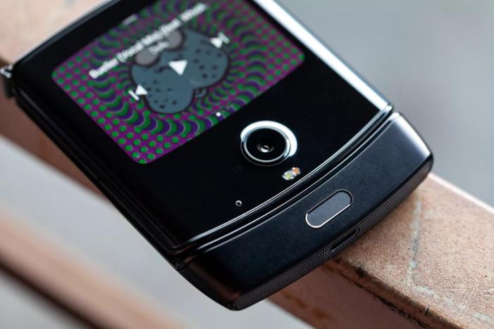 Motorola razr skener odtlackov