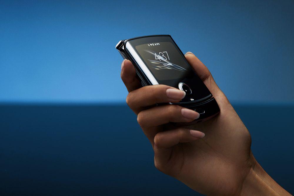 Motorola Razr zlozeny