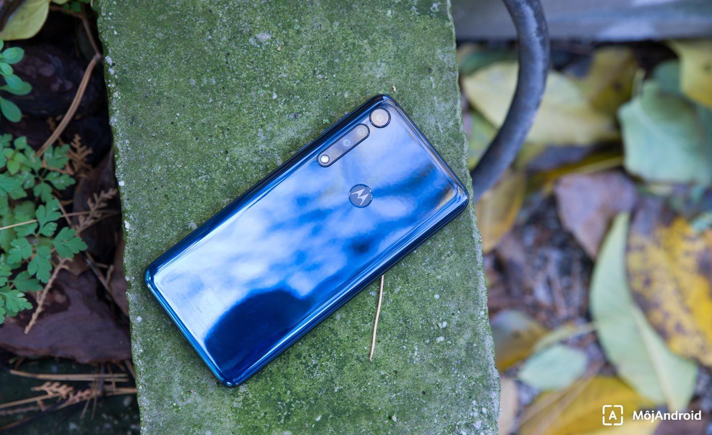 Motorola one macro skener odtlackov