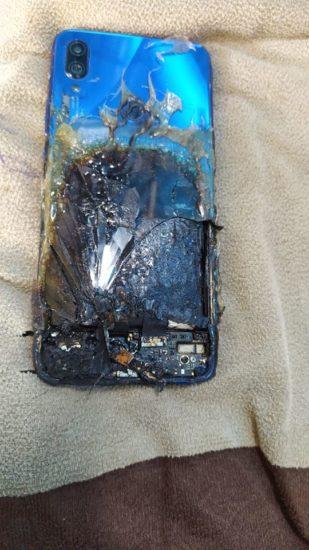 Redmi Note 7s poškodenie