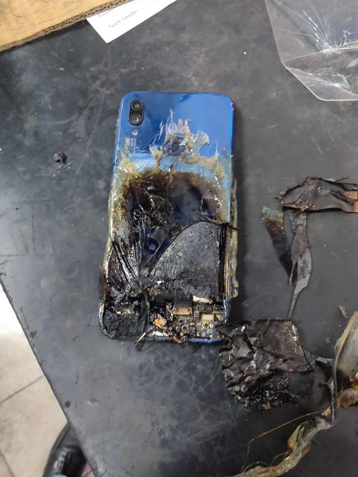 Výbuch, či požiar smartfónu Redmi Note 7S