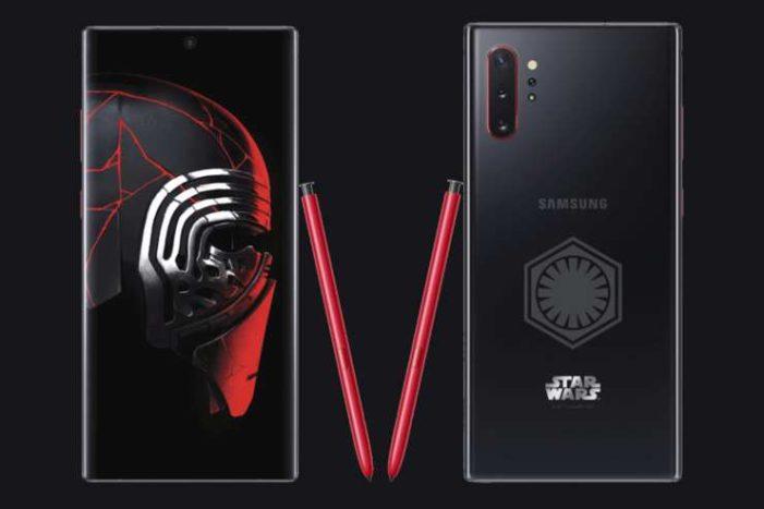 Samsung Galaxy Note 10 Star Wars