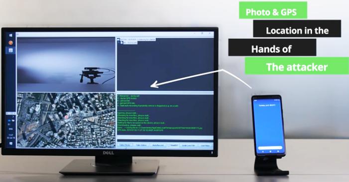 bezpečnostná diera v aplikáciách fotoaparátu