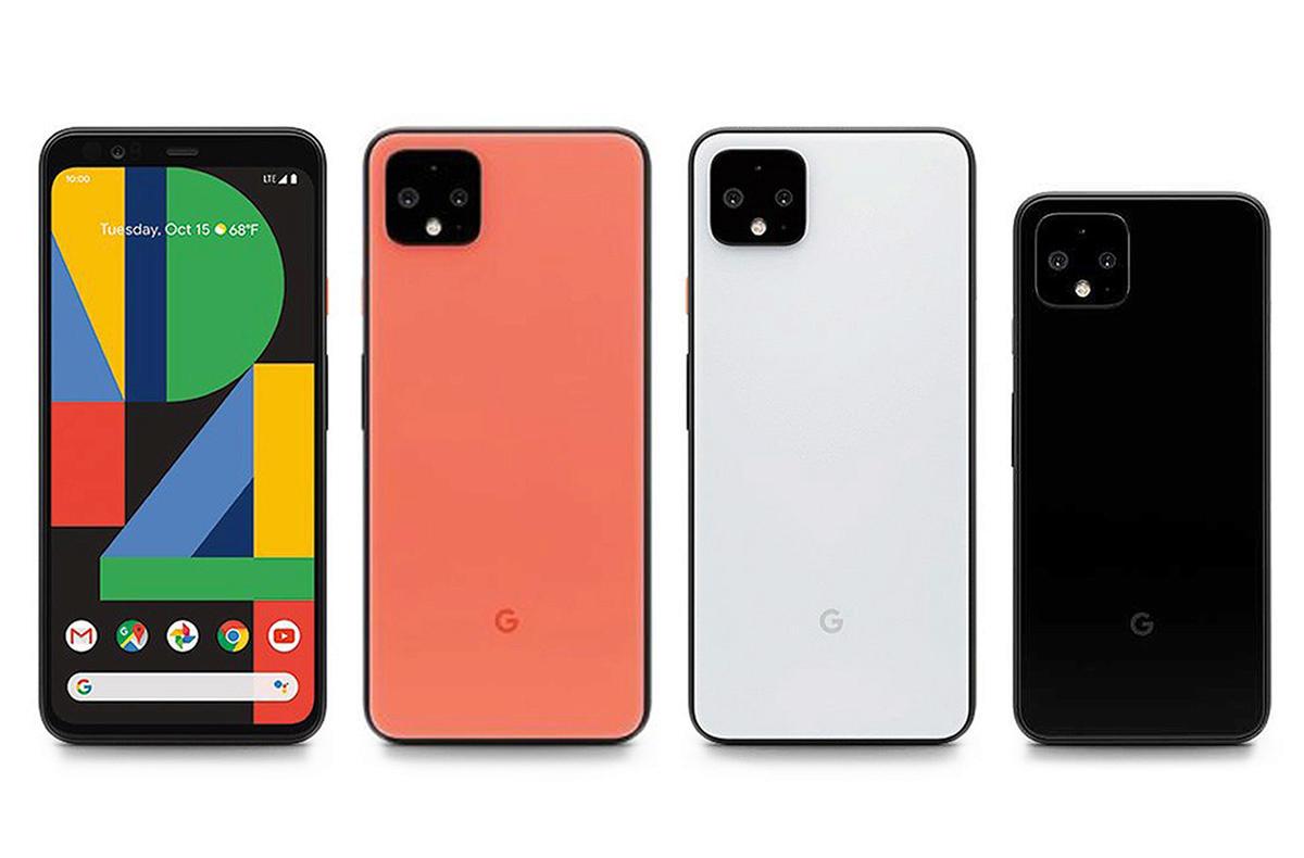 Google Pixel 4 fotomobil