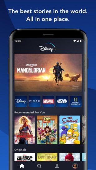 Disney+ aplikácia 2