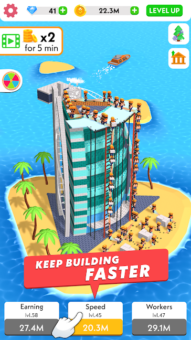 idle construction 3d