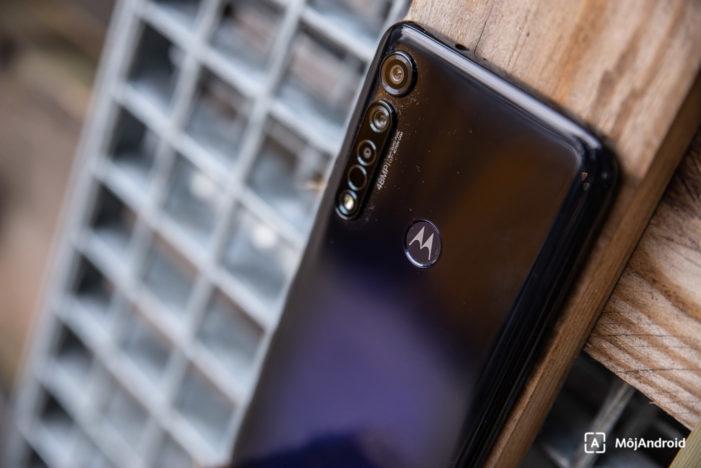Motorola moto g8 plus Android 10