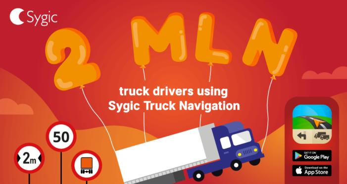 Sygic Truck Navigation rekord