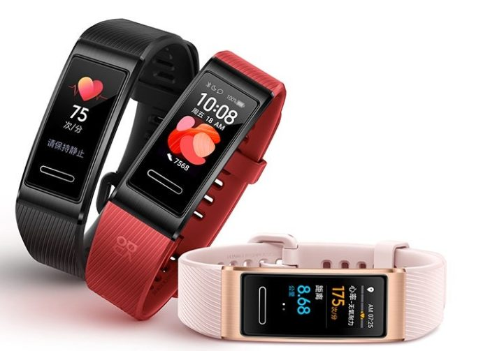 Huawei Band 4 Pro farby