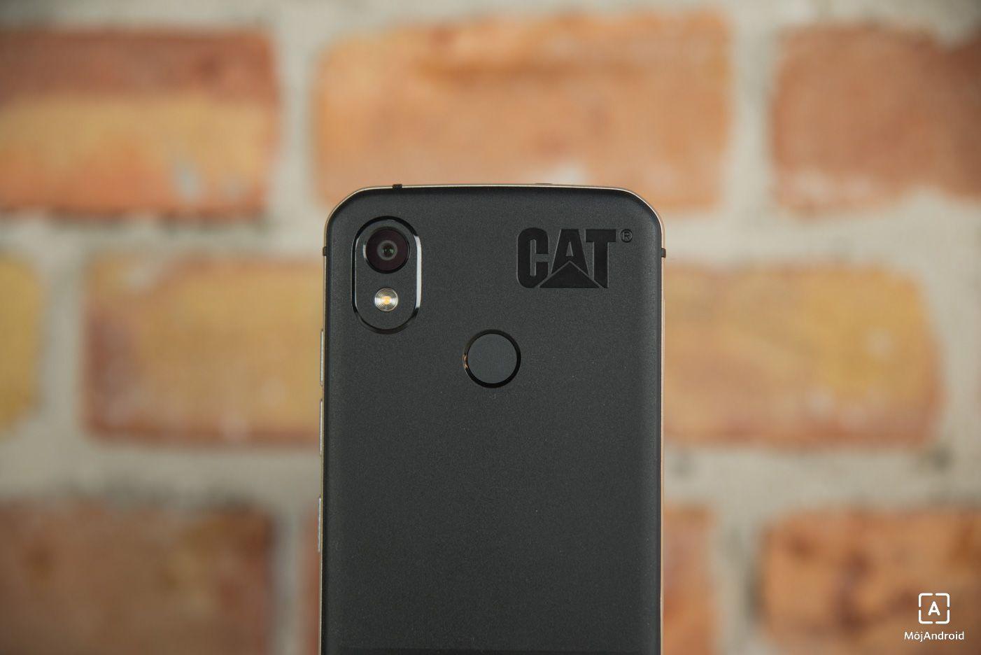 CAT S52 skener odtlackov