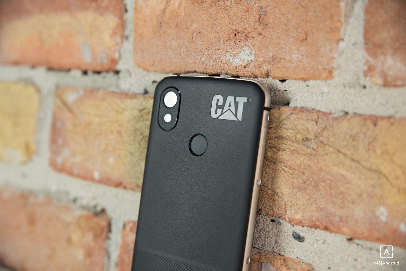 CAT S52 skener fotoaparat