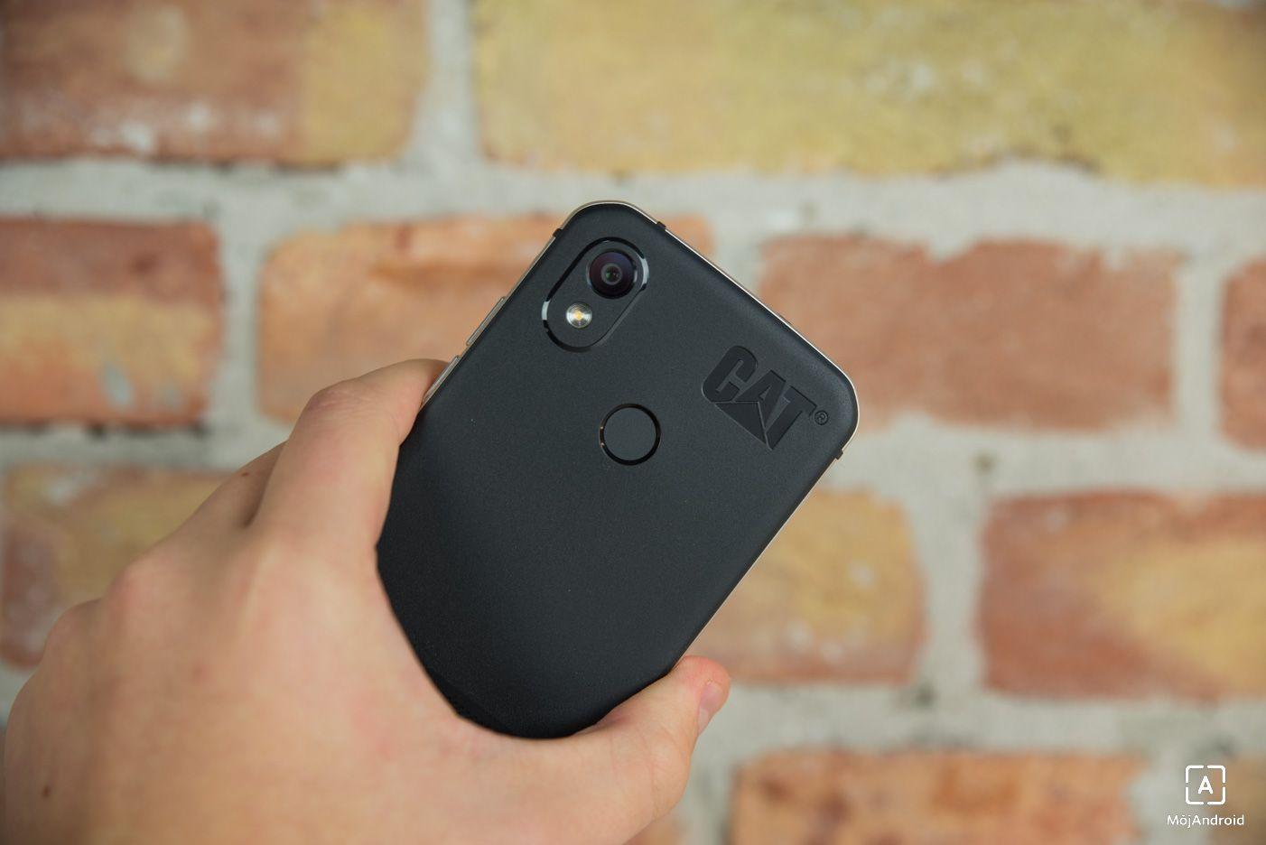 CAT S52 fotoaparat skener odtlackov