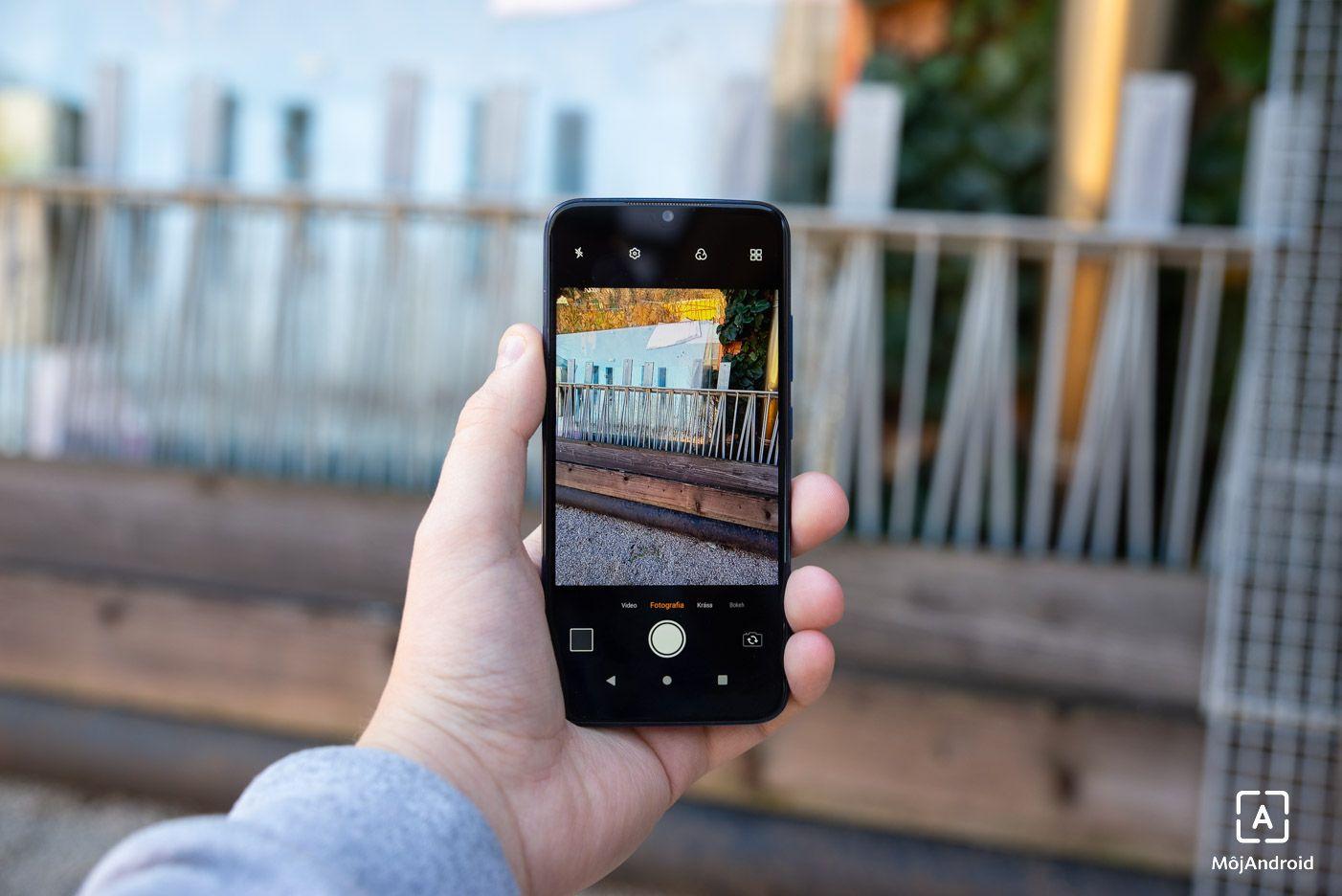 Lenovo K10 Note foto aplikacia