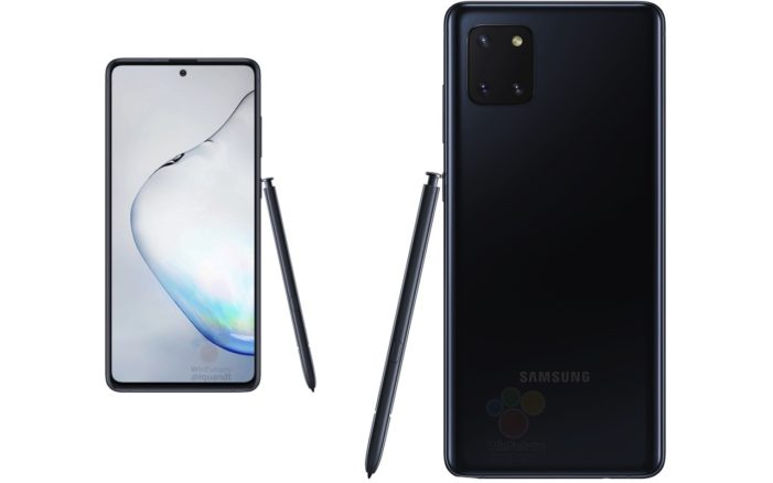 Samsung Galaxy Note 10 Lite dizajn 2