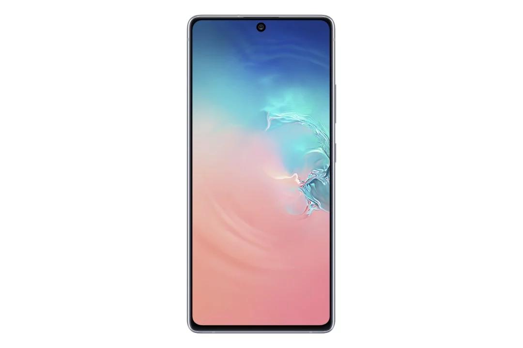 Samsung Galaxy S10 Lite displej