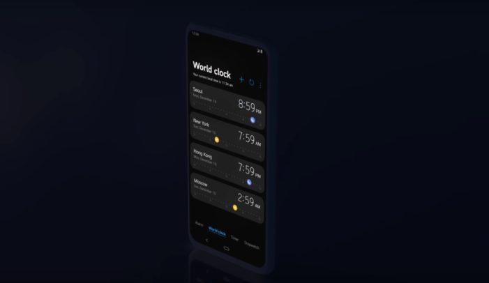 LG UX 9.0 svetový čas