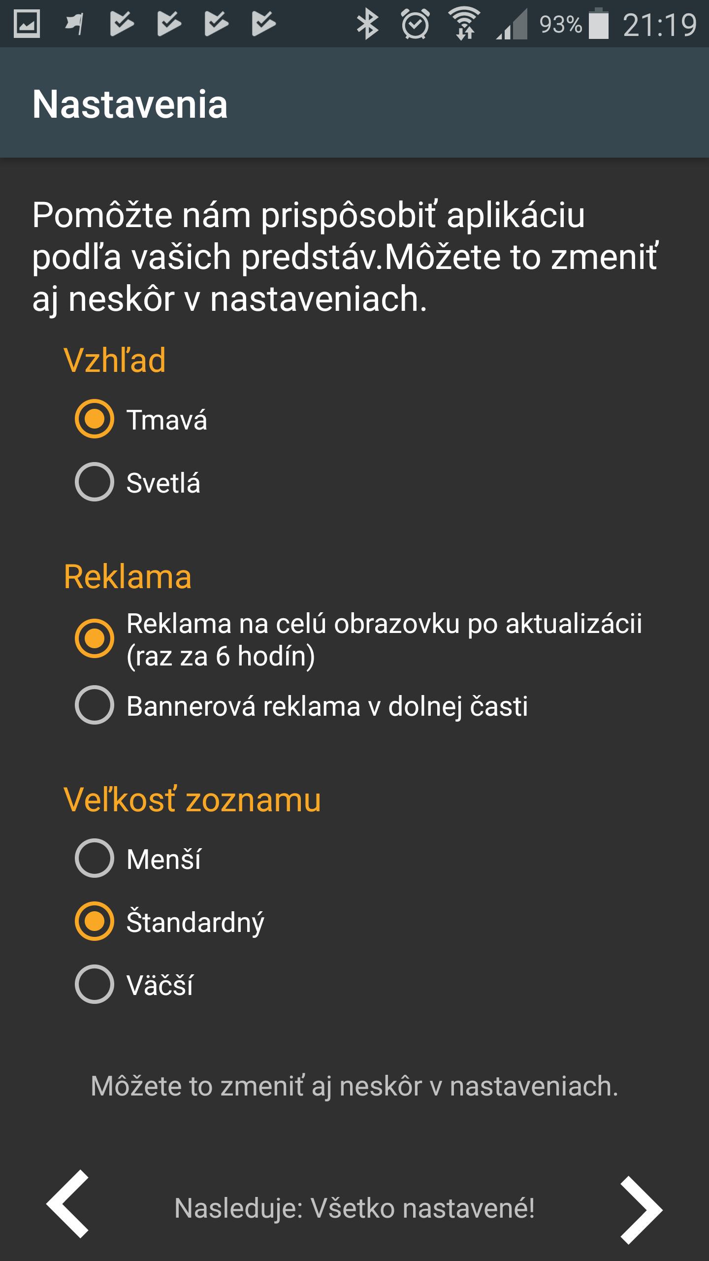 Rýchly prevod mien screenshot 2