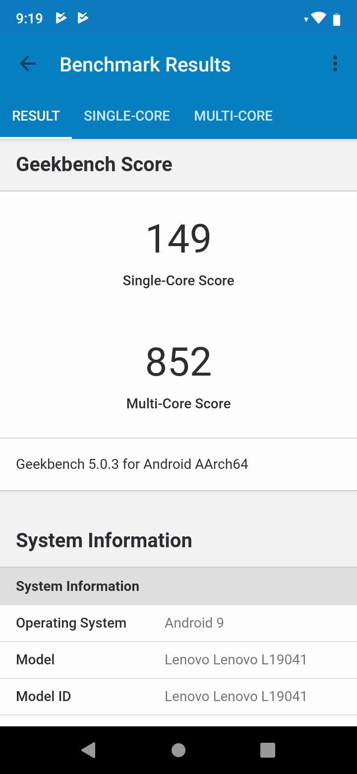 lenovo a6 note benchmark