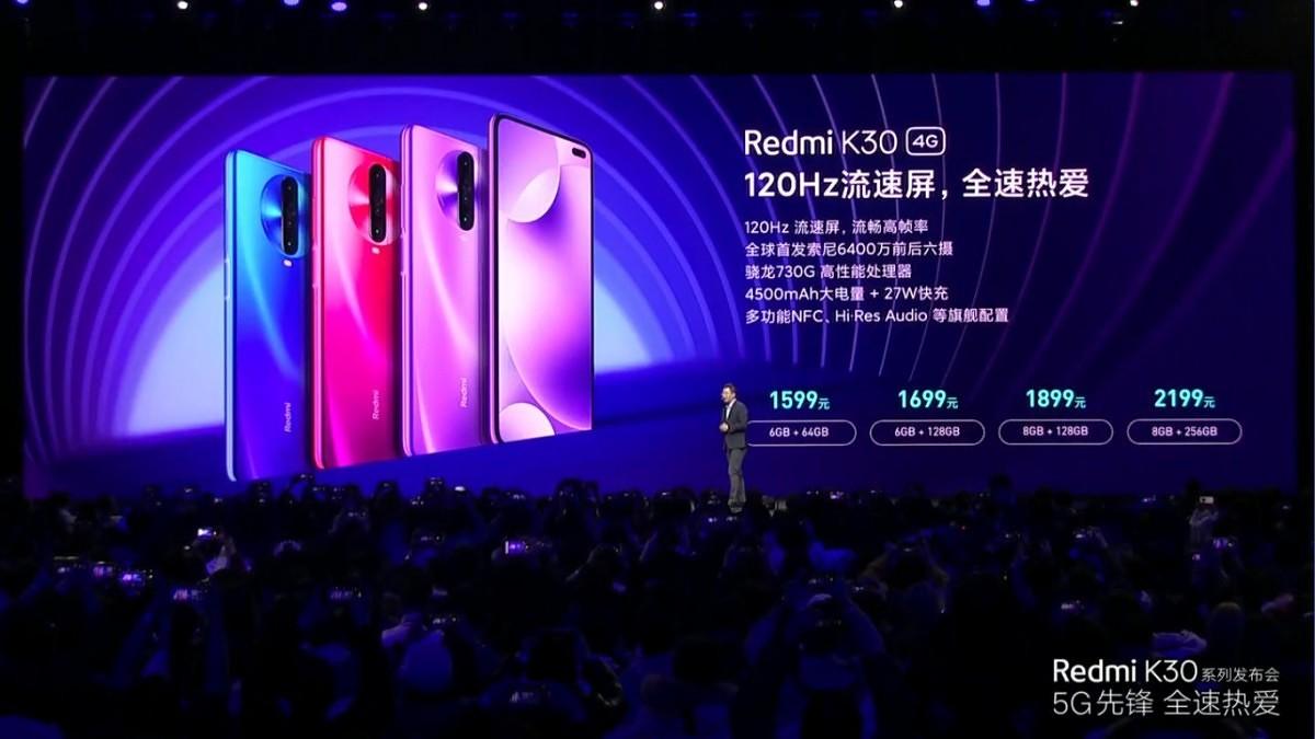 Redmi K30 5G ceny