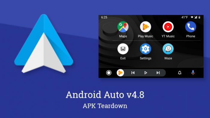Android Auto v4.8