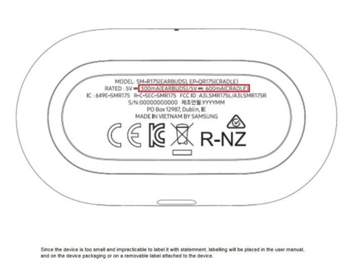 Samsung Galaxy Buds+ FCC