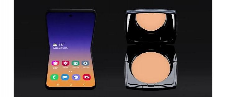 Samsung Galaxy Bloom pudrenka otvaranie