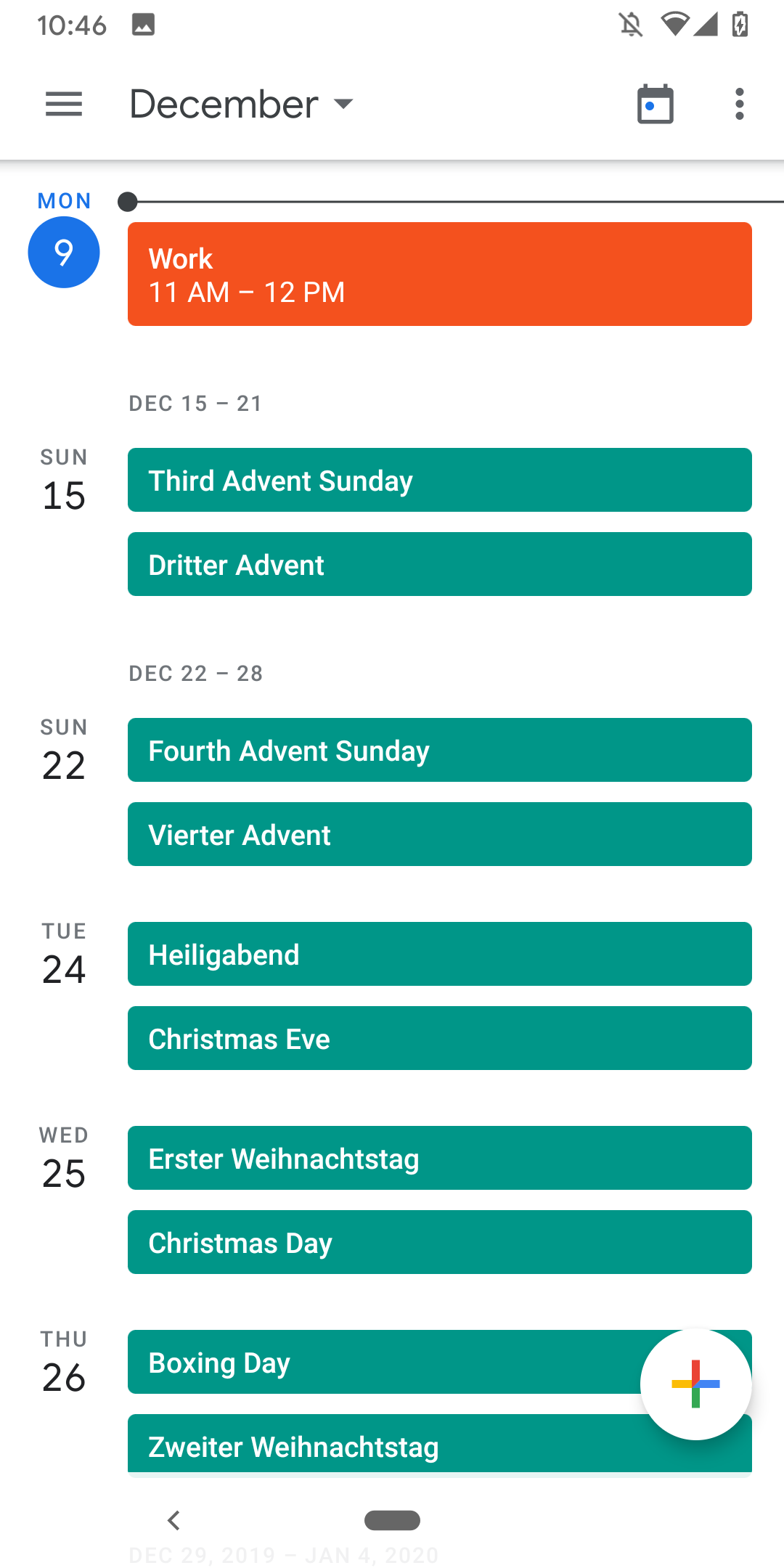 Google Kalendár udalosti 4