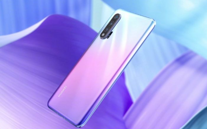 Huawei nova 6 fotoaparát