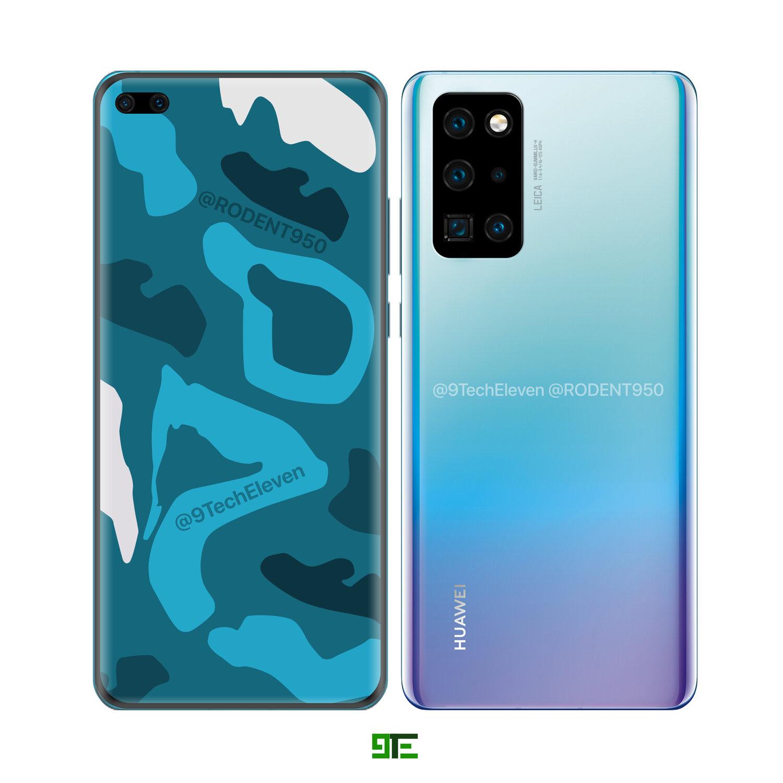 Huawei P40 fotoaparat