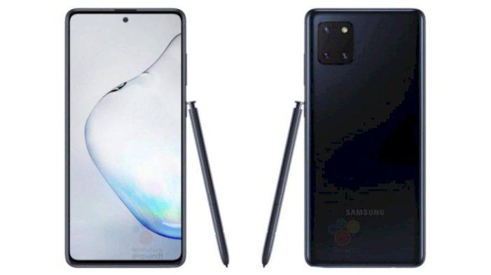 Samsung Galaxy Note 10 Lite čierny