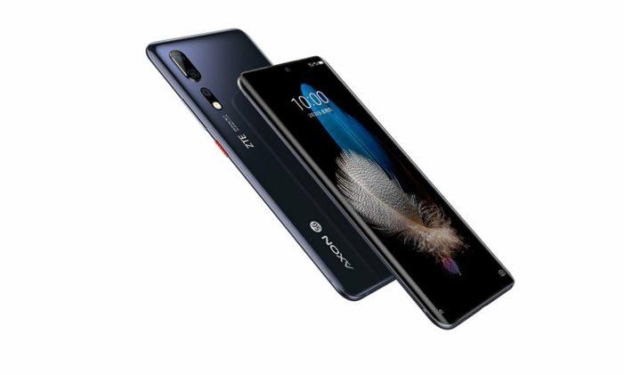 ZTE Axon 10s Pro 5G bok