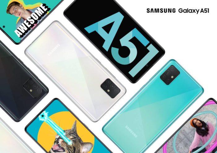 Samsung Galaxy A51 logo